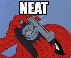 spiderman neat